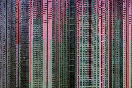 Kiến trúc Density #39, Hong Kong, Michael Wolf, năm 2005