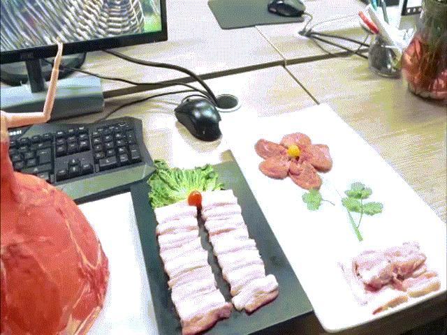 Thánh ăn công sở dùng điều hòa nướng thịt cực ngon