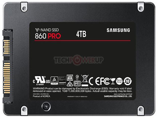 Samsung tung bộ đôi ổ cứng SSD có dung lượng tới 4TB