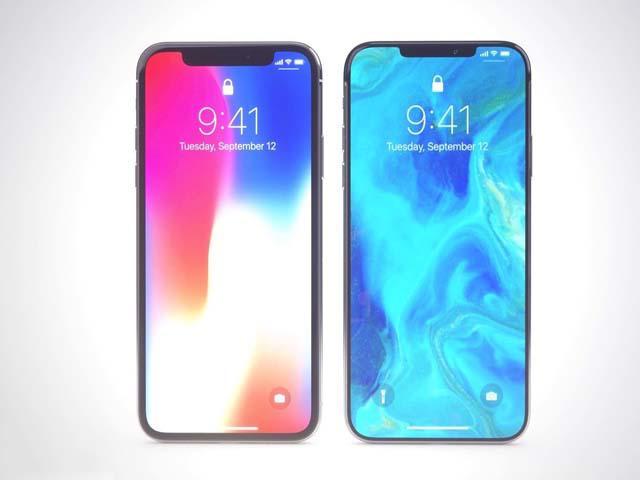 """iPhone X 2018 lộ diện với """"tai thỏ"""" siêu gọn"""