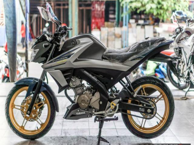 Yamaha Vixion 150 hoàn toàn mới có bản vành vàng