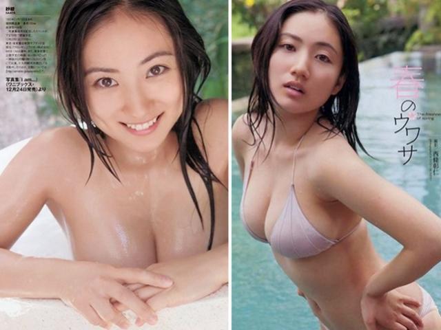 Thân hình phồn thực của mỹ nữ tắm bồn chụp ảnh bikini từ thuở 11