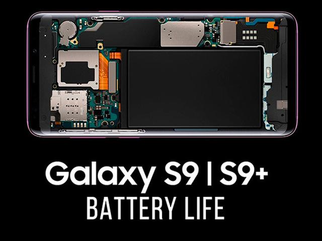 """Pin của Galaxy S9/ Galaxy S9+ """"trâu"""" tới cỡ nào?"""