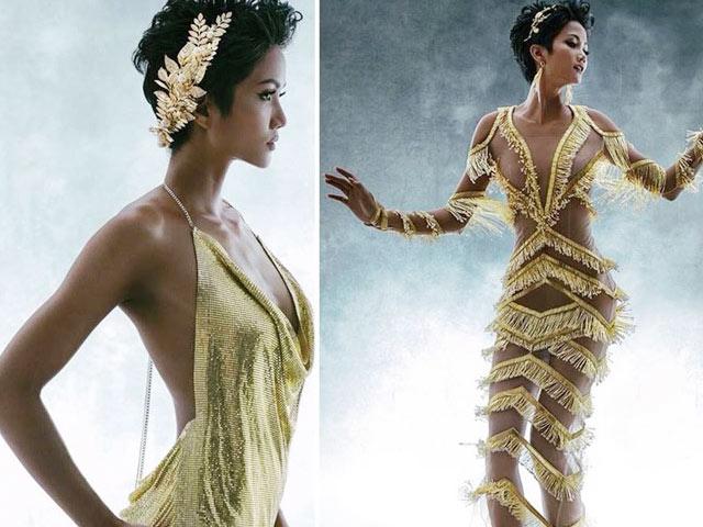 Váy xuyên thấu của H'Hen Niê phản cảm hay không?