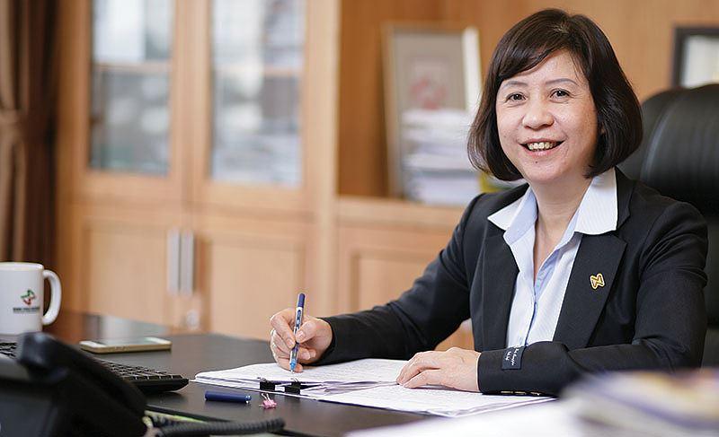 Bà Nguyễn Thị Hoàng Lan là một trong 7 ứng cử viên vào HĐQT HSC
