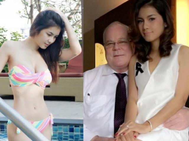 Cô gái Thái Lan tiết lộ điều gây sốc sau khi ly dị triệu phú Mỹ già
