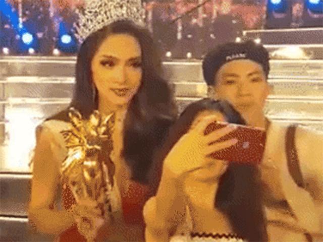 Hương Giang đăng quang Hoa hậu chuyển giới: Sao Việt vỡ òa hạnh phúc