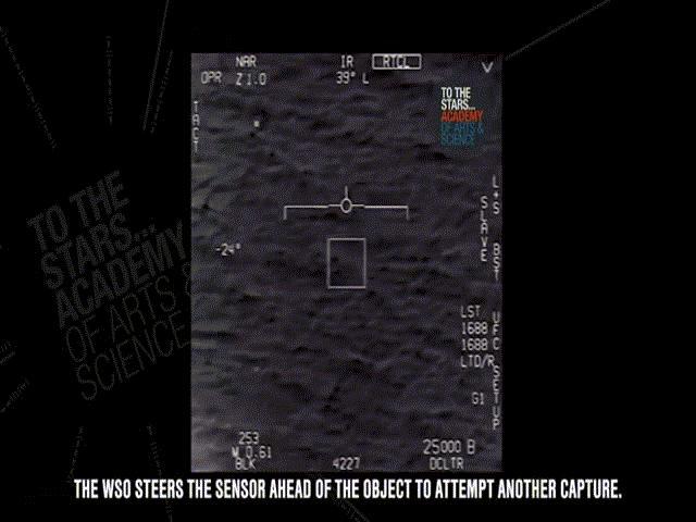 Khoảnh khắc chiến đấu cơ Mỹ truy đuổi UFO ở Đại Tây Dương