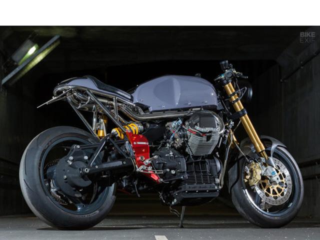 """Moto Guzzi V11 Sport Scura bản độ: """"Độc nhất của độc nhất"""""""