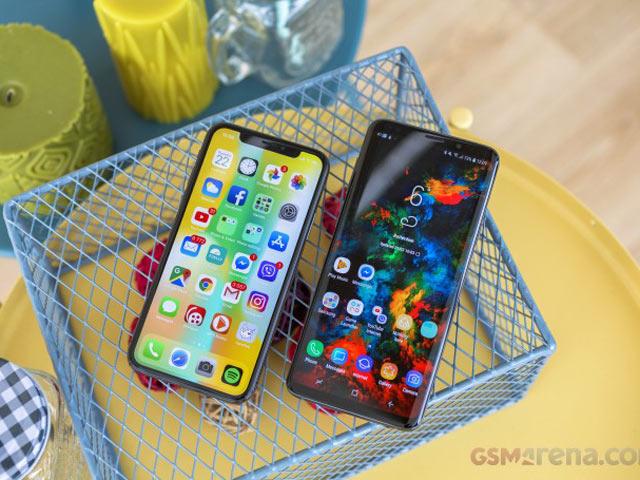 So sánh ảnh chụp giữa iPhone X và Galaxy S9+