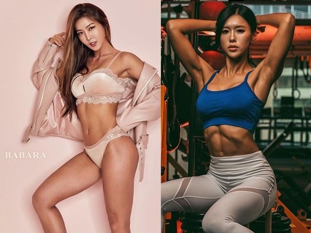 3 người đẹp Hàn Quốc sở hữu cơ bắp cuồn cuộn đàn ông cũng phải e dè