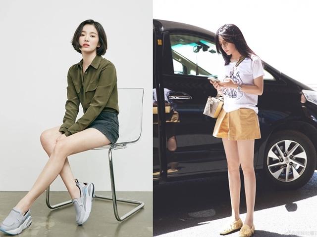 Ngắm những cặp chân thon đáng ghen tị của mỹ nhân Hoa, Hàn sau giảm cân