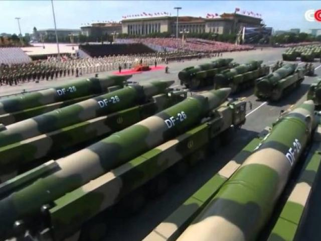 """5 vũ khí ghê gớm Trung Quốc có thể dùng """"đè bẹp"""" Đài Loan"""