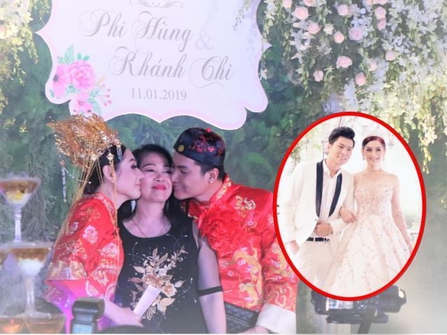 """Mẹ chồng Lâm Khánh Chi tặng quà """"khủng"""" trong lễ kỉ niệm 1 năm ngày cưới của con"""