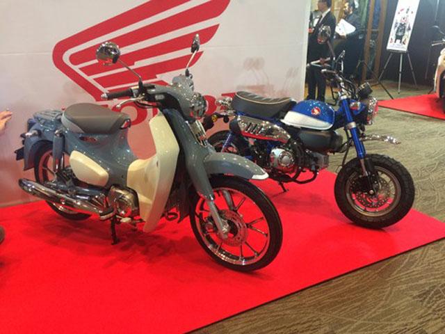Honda Super Cub C 125 và Monkey 125 thêm màu mới, giá 84,6 triệu đồng
