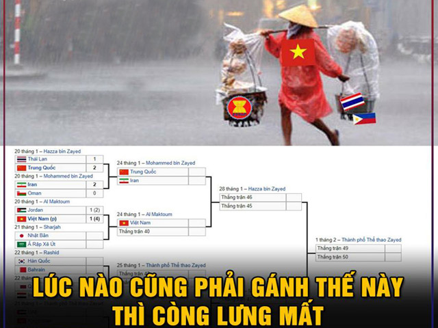 """Thái Lan bị loại, Việt Nam phải """"gánh"""" cả Đông Nam Á"""