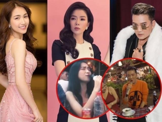 Lệ Quyên, Mr. Đàm, Hòa Minzy cùng ngồi nhậu hát loa kẹo kéo: Ai hay nhất?