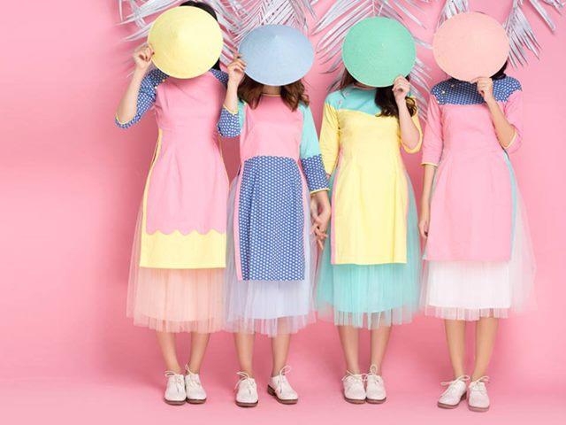 Áo dài lai váy đụp: Có nên gọi là áo dài?