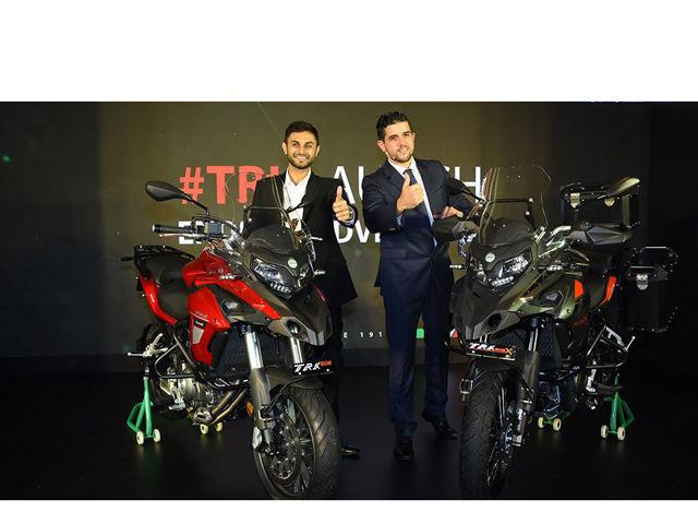 Benelli TRK 502 và TRK 502X ra mắt, giá từ 162 triệu đồng