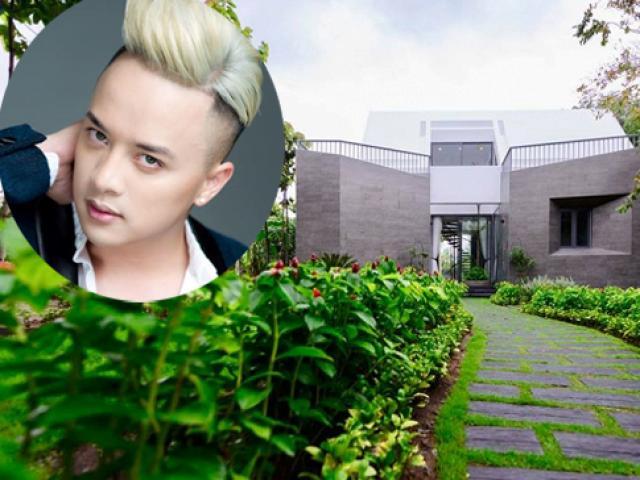 Nam ca sĩ 34 tuổi, độc thân, sống ở 2 siêu biệt thự tại Sài Gòn và Long An là ai?
