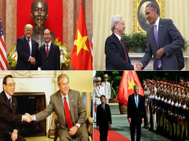Nhìn lại những chuyến thăm Việt Nam của lãnh đạo 2 nước Mỹ và Triều Tiên