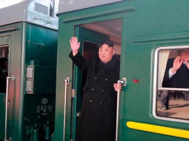 Đoàn tàu bọc thép chở ông Kim Jong-un đã đến đâu?