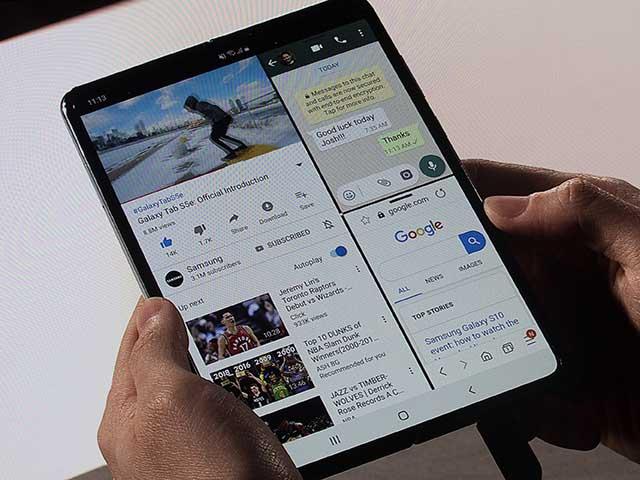 Huawei sẵn sàng miếng đánh nhắm vào Galaxy Fold tại MWC 2019