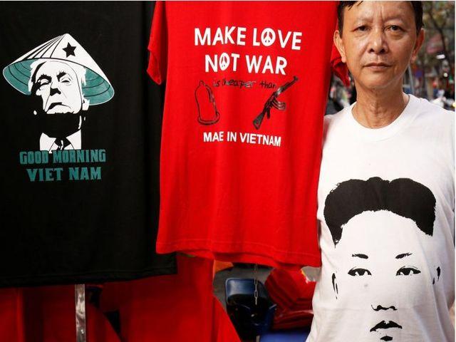 Báo ngoại thích thú với những dịch vụ ăn theo hội nghị Mỹ-Triều ở Việt Nam