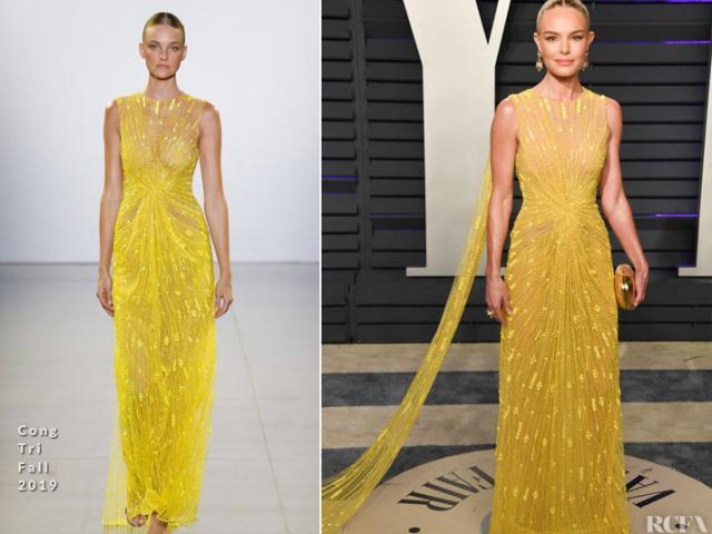 3 thiết kế Việt được sao Hollywood mặc tới Oscar 2019 đều của Công Trí
