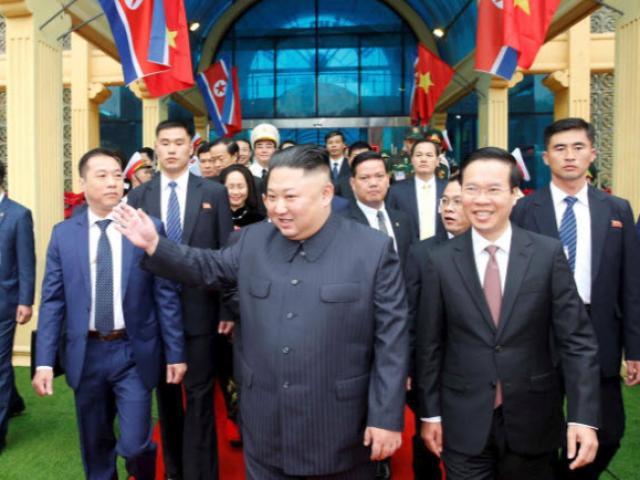 Trung Quốc nói gì ngay sau khi ông Kim Jong Un đến Hà Nội?