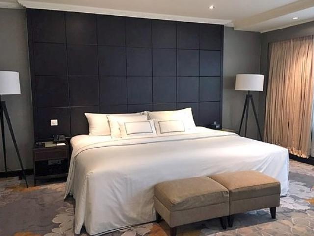 Bên trong phòng được cho là của ông Kim Jong Un tại khách sạn Melia, Hà Nội