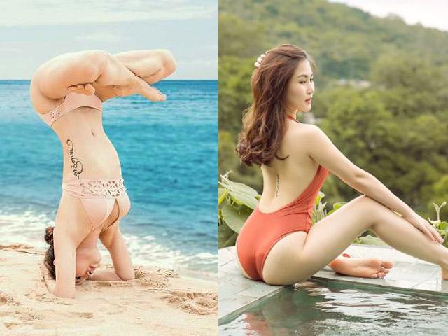 """Top hình xăm ở vị trí """"độc"""" nhất showbiz Việt từng bị lộ khi mặc đồ bơi"""