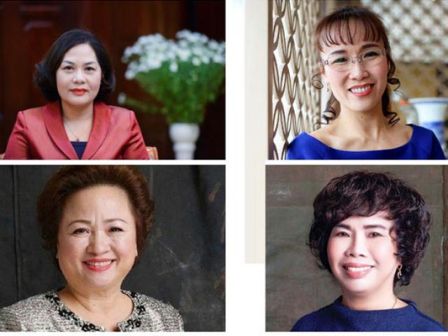 Điểm chung của 4 nữ lãnh đạo ngân hàng ảnh hưởng nhất Việt Nam 2019