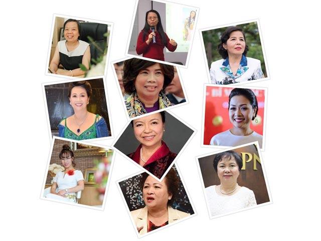 10 phụ nữ Việt gây choáng bởi sự giàu có, giỏi giang và quyền lực