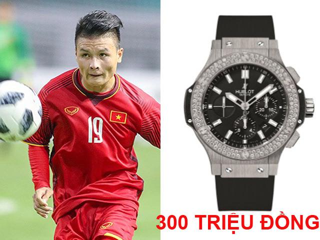 """Quang Hải và 2 tuyển thủ phá lưới U23 Brunei là """"dân chơi hàng hiệu"""""""