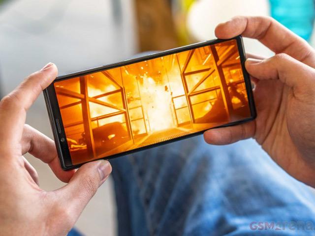 Sony Xperia 1 mang tới trải nghiệm màn hình 4K tuyệt đỉnh 24/24