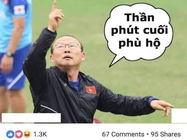 """U23 Việt Nam thắng nhọc Indonesia, dân mạng cảm ơn """"thần phút cuối phù hộ"""""""