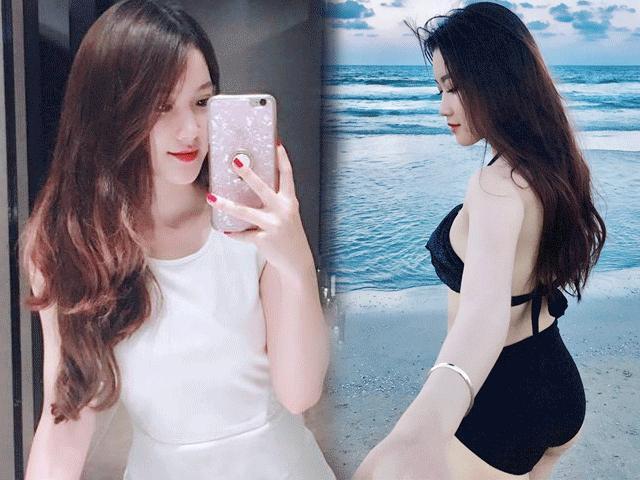 Dung nhan nóng bỏng của nữ CĐV hot nhất trận U23 Việt Nam-Thái Lan