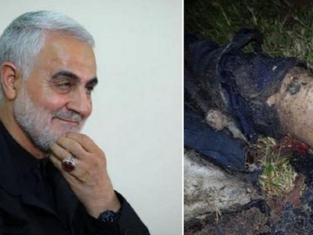Bức ảnh hiện trường hé lộ tướng quyền lực Iran bị Mỹ tiêu diệt