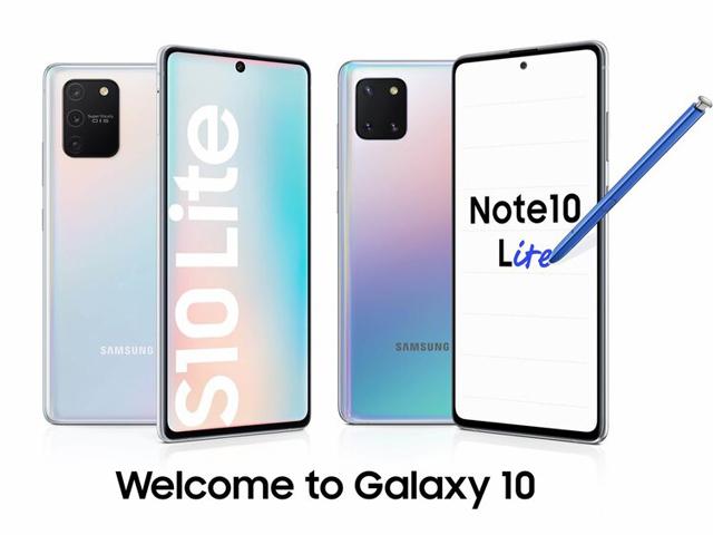 Chính thức: Samsung ra mắt Galaxy S10 Lite và Galaxy Note 10 Lite