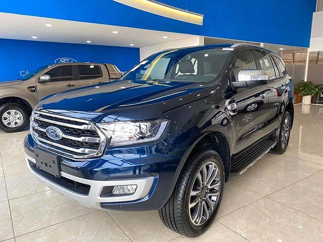 Ford bổ xung màu sắc mới cho dòng xe Everest tại thị trường Việt