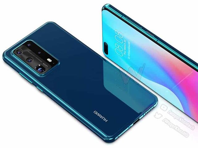 Choáng với ý tưởng thiết kế Huawei P40 Pro cực đẹp