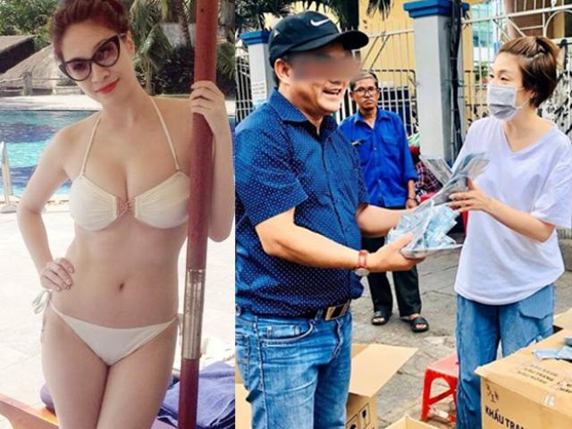 Người đẹp suýt ngất, bị xua đuổi khi phát khẩu trang miễn phí giữa đại dịch Corona