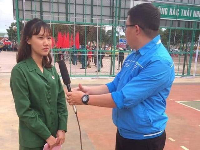 Cô gái duy nhất trúng tuyển nghĩa vụ quân sự ở Đắk Lắk