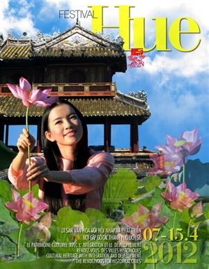 Hình ảnh Phạm Hồng Lê Giang trên các áp phích Festival Huế 2012