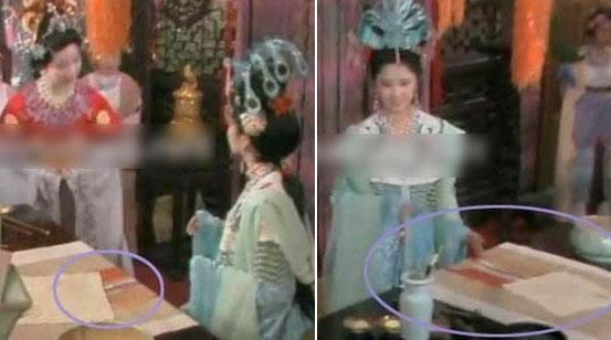 Chiếc khăn Quốc vương Tây lương nữ quốc dùng để che bức tranh cô vẽ có thể di chuyển?
