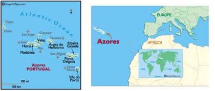Quần đảo Azores.