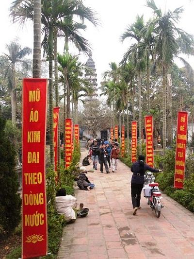 Chùa Tháp Phổ Minh ở Nam Định