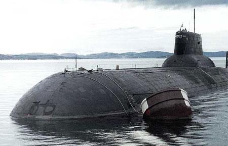Tàu ngầm Severstal của hải quân Nga.