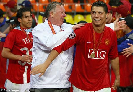 MU là nơi đặt dấu ấn đầu tiên trong sự nghiệp và xây dựng hình ảnh đẹp đẽ cho C.Ronaldo